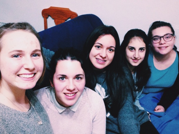 Me, Anabel, Maria, Raquel, Lola