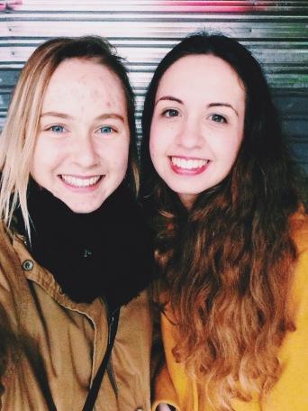 Noelia and I