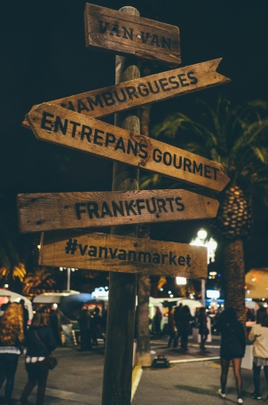 One of the best events of the trip! VANVAN gastronomic market!