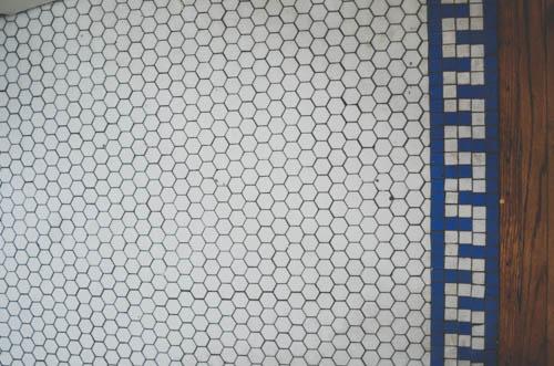 honeycomb tile!